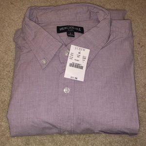 J. Crew Men's Long Sleeve Button Down